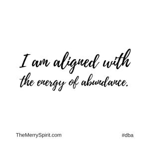 Affirmation-abunance