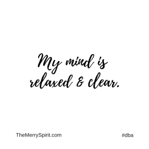 Affirmation-my-mind-is-relaxed-and-clear