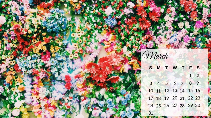 March 2019 Flowers